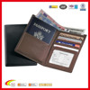 Nappa Leather RFID Blocking Passport Currency Wallet, Hotsale Popular Passport Holder