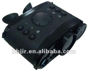 Infrared ir binokulare wärmebildgebung kamera mit laser