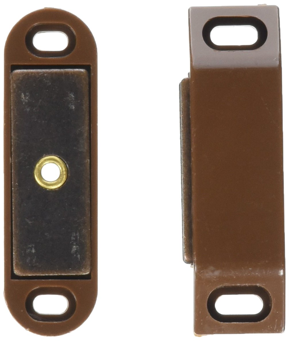 Ultra Hardware 13504 Heavy Duty Magnetic Catch-Brown-Polybagged