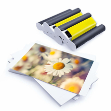 High Glossy Photo Papier 4*6 kp 108in Für Canon selphy CP1200 KP-108in tinte patrone 4x6 foto papier