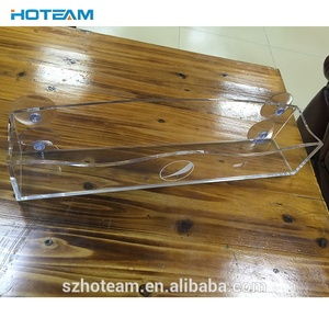 Factory Clear Acrylic Cooler Door Candy Bar Holder