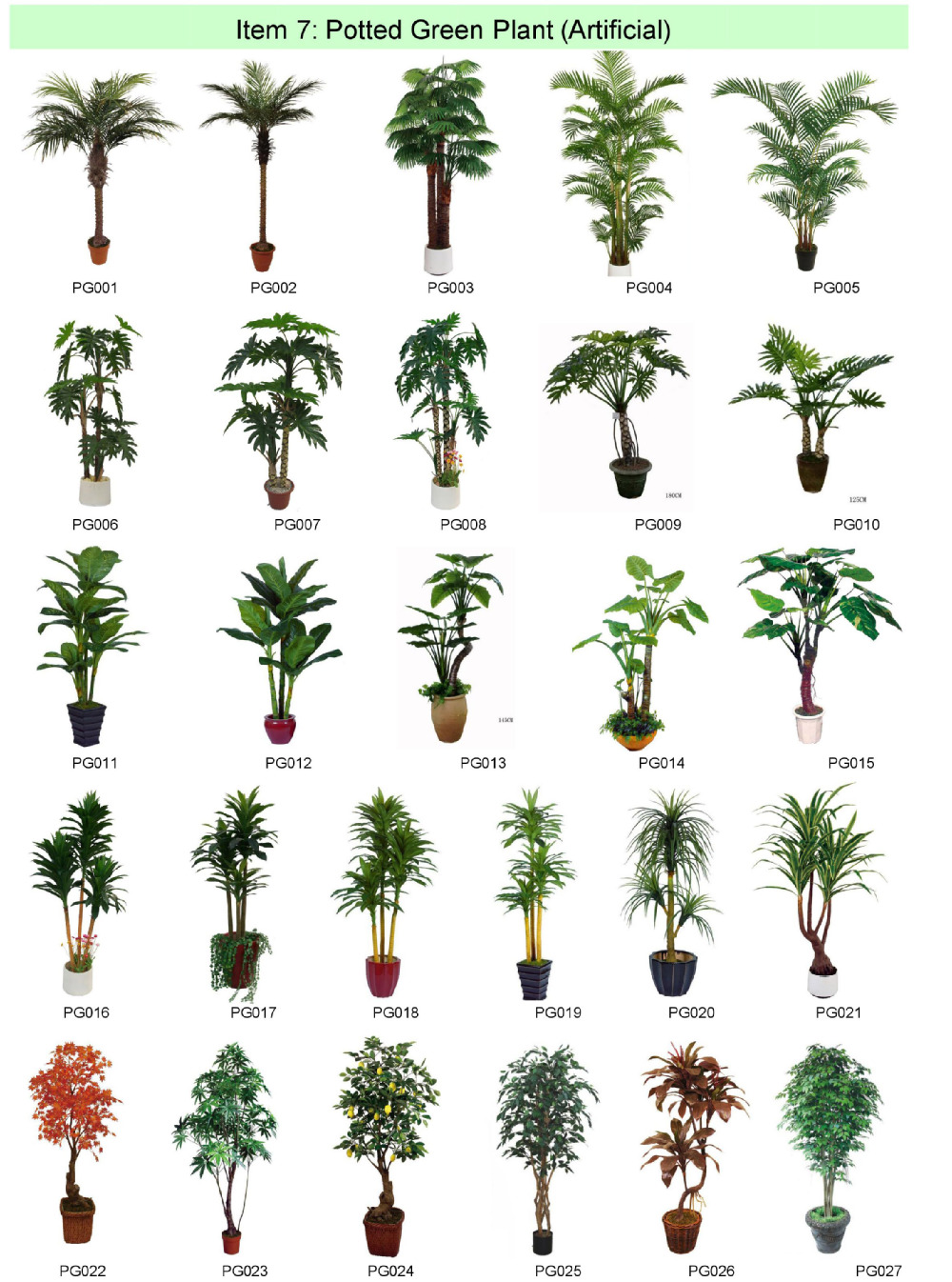 Decorative Indoor Trees Factory Wholesale Cheap Indoor Decorative Artificial Plants And