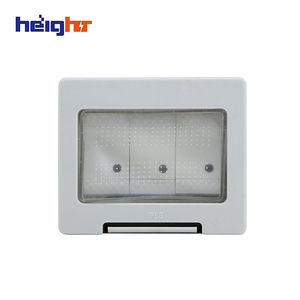 Elegant Design Waterproof Outdoor Switch And Socket With Transparent Cover