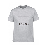 Custom Logo 100% Cotton Short Sleeve T Shirt