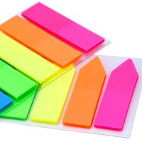 Neon Page Markers Colored Index Tabs Flags Sticky Notes for Page Marker