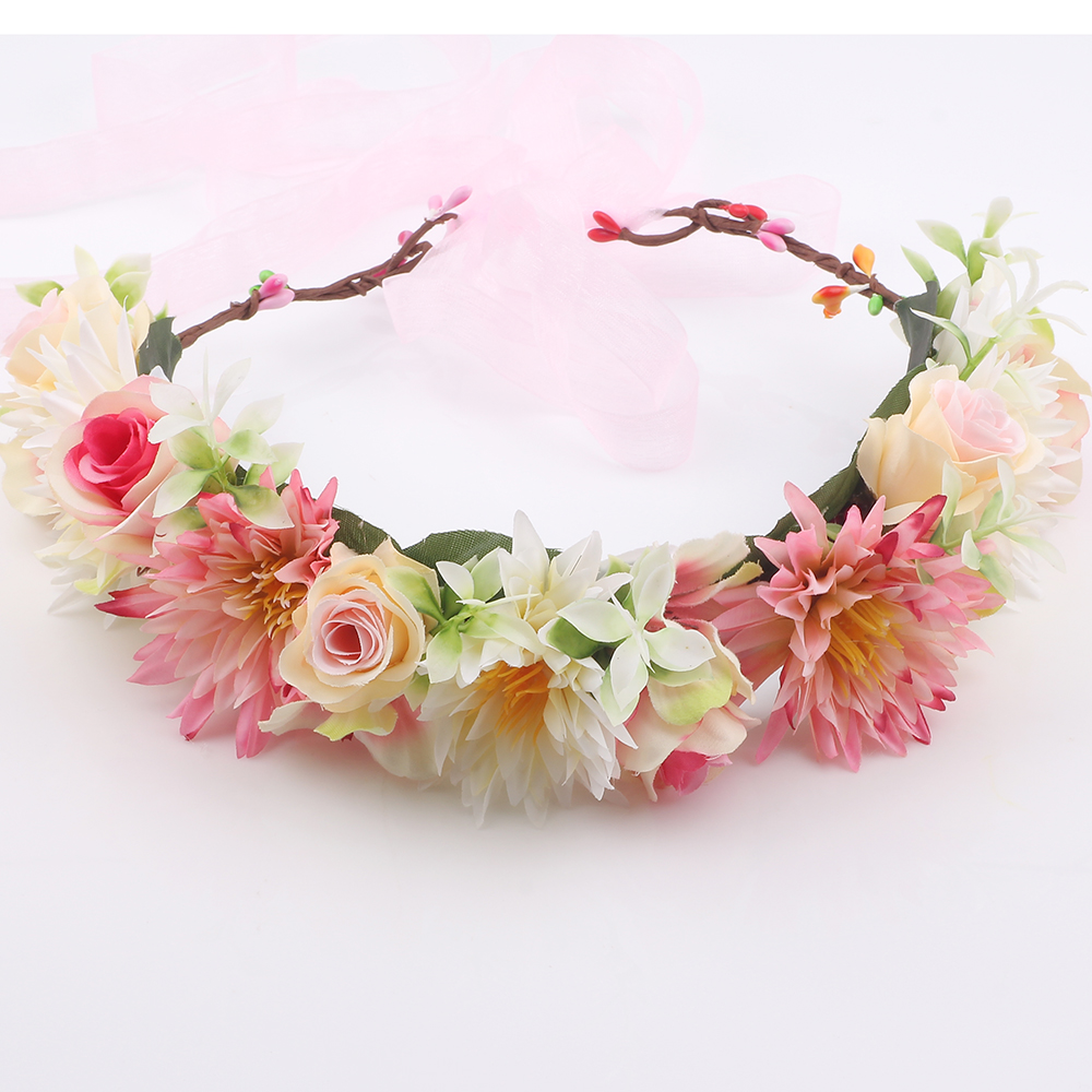 Flower crown flower crown suppliers and manufacturers at alibaba izmirmasajfo Gallery