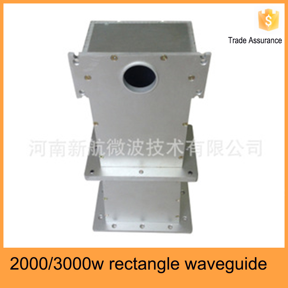 2000 3000w Rectangular Microwave Oven Parts Waveguide For 2000w Lg Magnetron Equipment Product