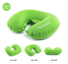 multi-function inflatable travel pillow neck/back air cushion,car seat neck pillow
