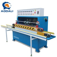 High Quality 45 Degree Chamfer Straight Line Glass Edge Grinding Machine