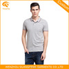 Man Slim Fit Plain Gray Polo Shirt
