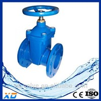 XD flanged end gate valve for Oil Refinery