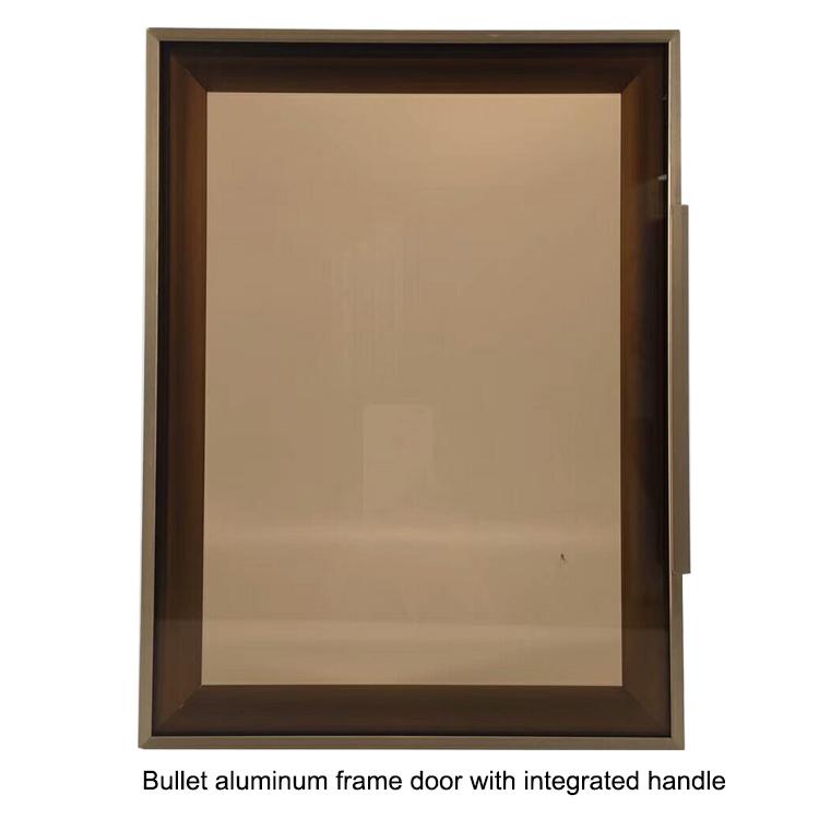 Aluminum Gl Cabinet Frame Profiles