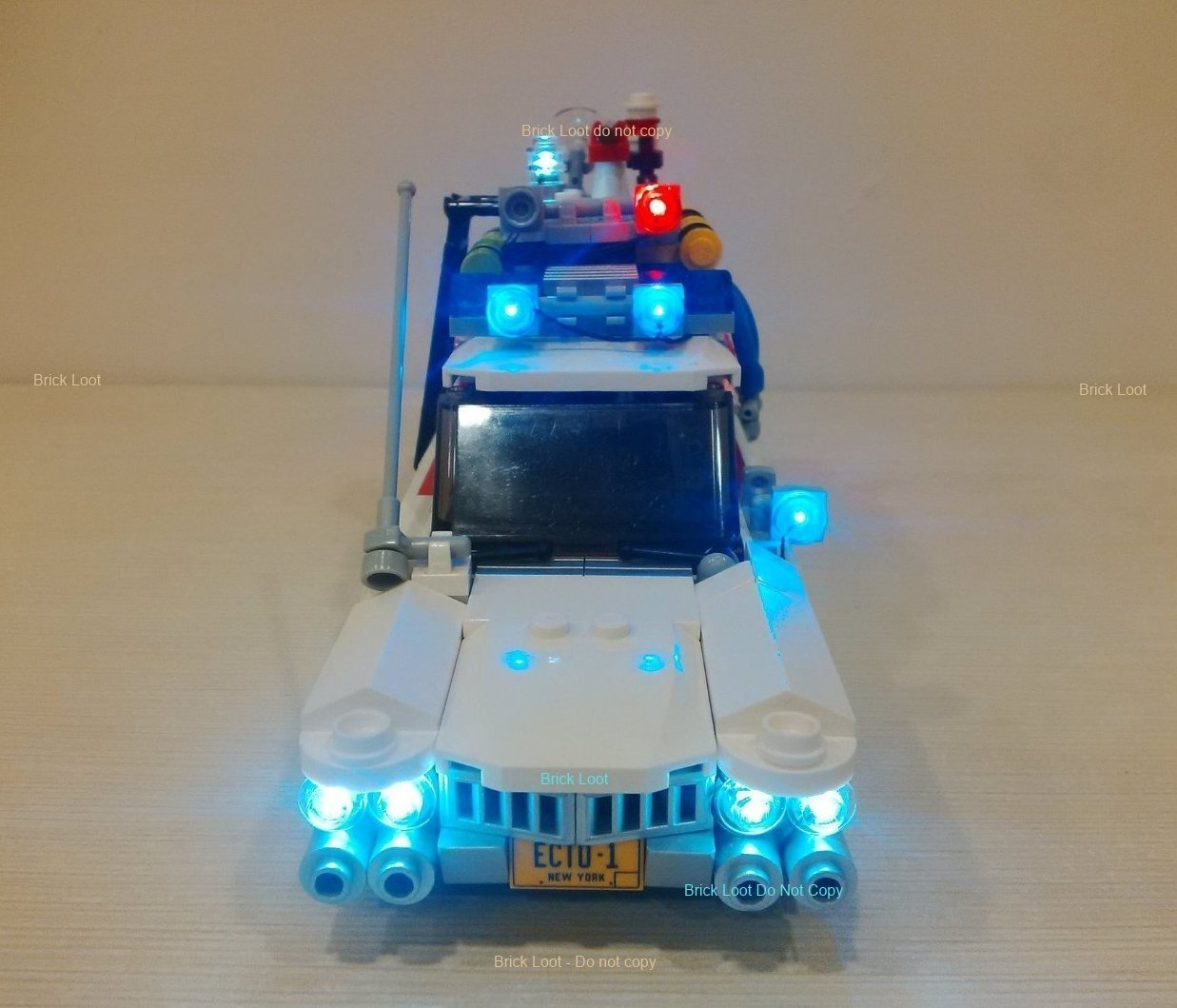 Ghostbusters Ecto-1 Lighting Kit for Lego 21108 (Car Not Included) Light Up & Buy Ghostbusters Ecto-1 Lighting Kit for Lego 21108 (Car Not ...