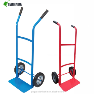 HAND TROLLEY WHEEL BARROW 100KG INDUSTRIAL TYRE SACK TRUCK LIFTER MOVER CART