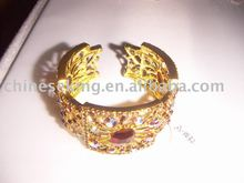 fashion Gold bracelets,alloy jewelry,fashion gold jewelry,high-grade stone jewelry,quality zinc alloy jewelry