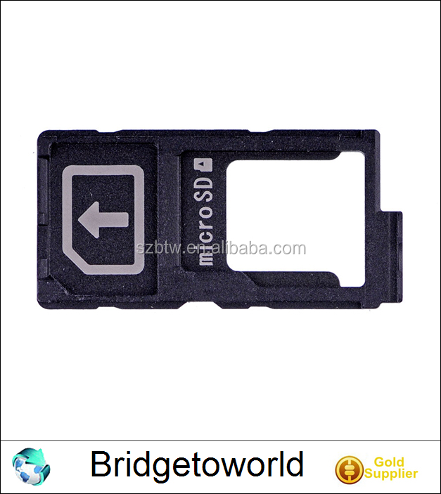 New For Sony Xperia Z5 Premium Single SIM SD Memory Card Tray Holder Slot Adapter