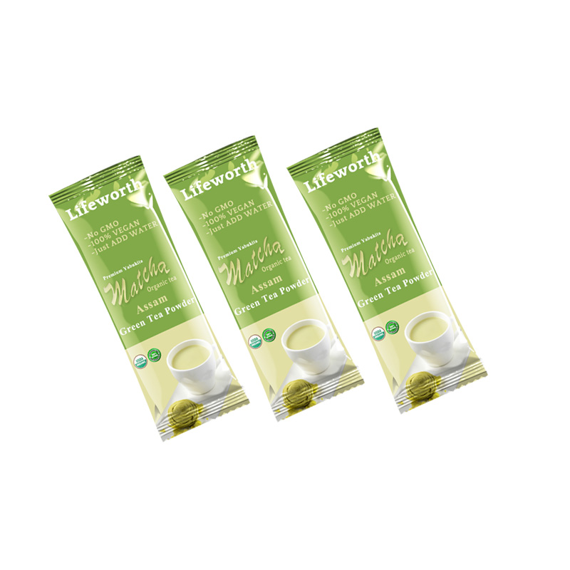 Lifeworth assam té matcha en polvo