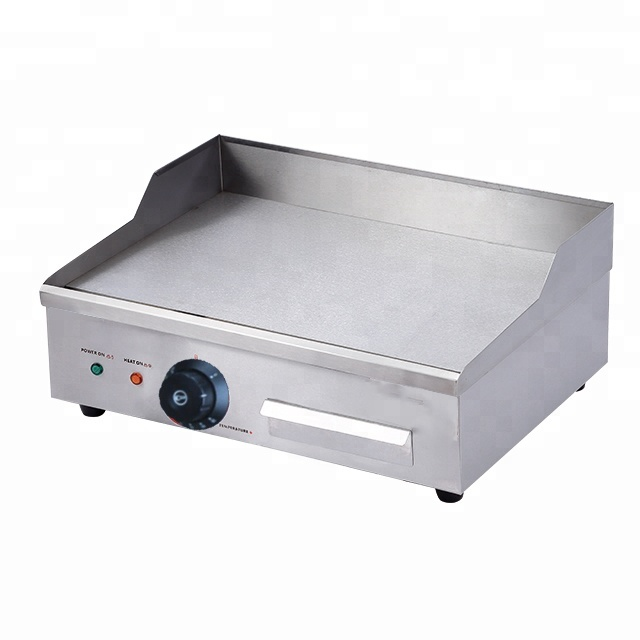 Counter top stainless steel electric Steak Griddle