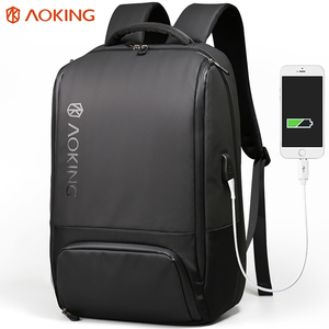 Aoking large capacity multifunctional usb bag backpack travel laptop bags backpack