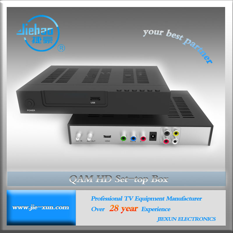Cheapest Universal Digital DVB C TV Tuner Box HD MI