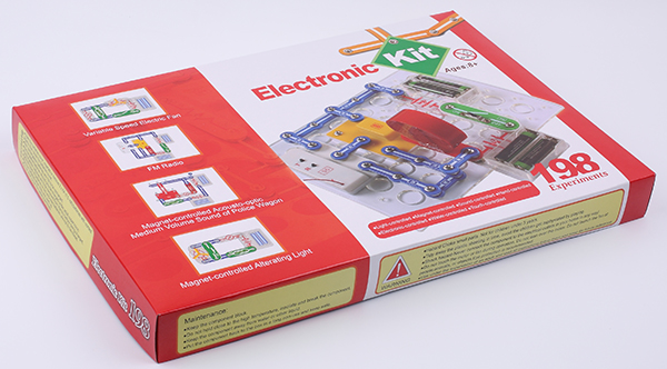 Electronic Circuits Electric Building Blocks DIY Physics Science Set Intelligent Toys for Kids