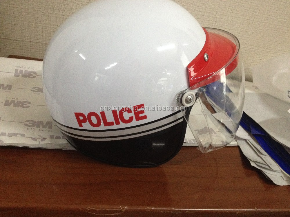 motorcycle helmet for police man hot sale