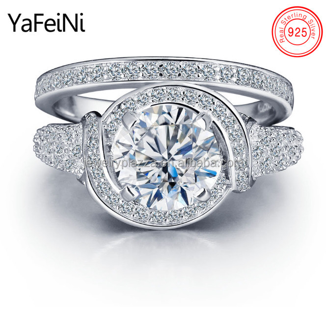 Bali Wedding Engagement Silver Ring Designs For Hot Cz Diamond Set Promise Party Love Script Sterling