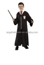 Hot sale kids cosplay costume popular carnival harry potter costume FC2330