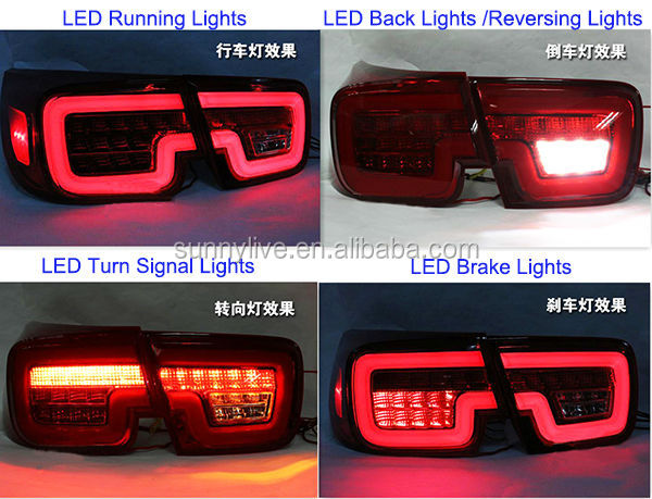 For Chevrolet 2012 2013 Year Malibu Led Rear Light Tail Lamp Wh View Malibu Tail Lamp Oem Product Details From Guangzhou Liyuan Automobile Center