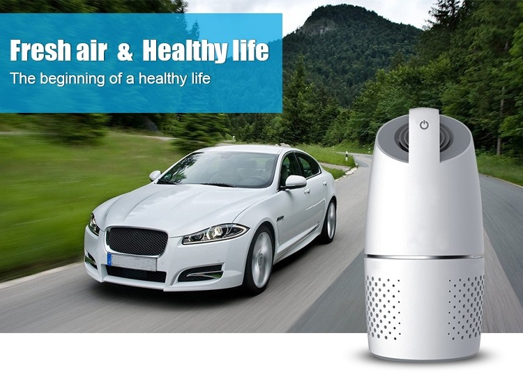 Car air purifier USB Mini Air purifier ionizer Car purifier USB connector