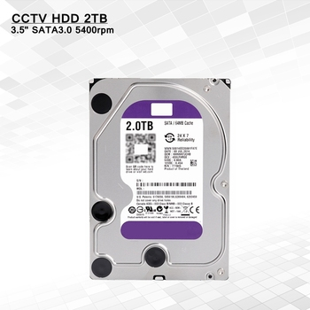 Genuine Surveillance Hdd 2TB 35 5400rpm Sata Refurbished Hard Drive For Hikvision Cctv