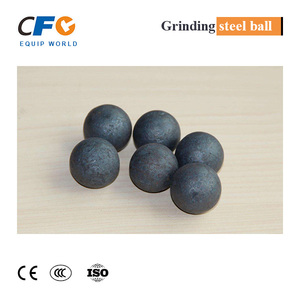 Forged iron grinding steel balls with customized Dia 25-150mm