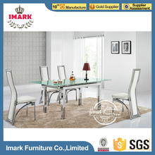 Middle Extended White Dining Table with Stretch Out Mechanism Manufacturer