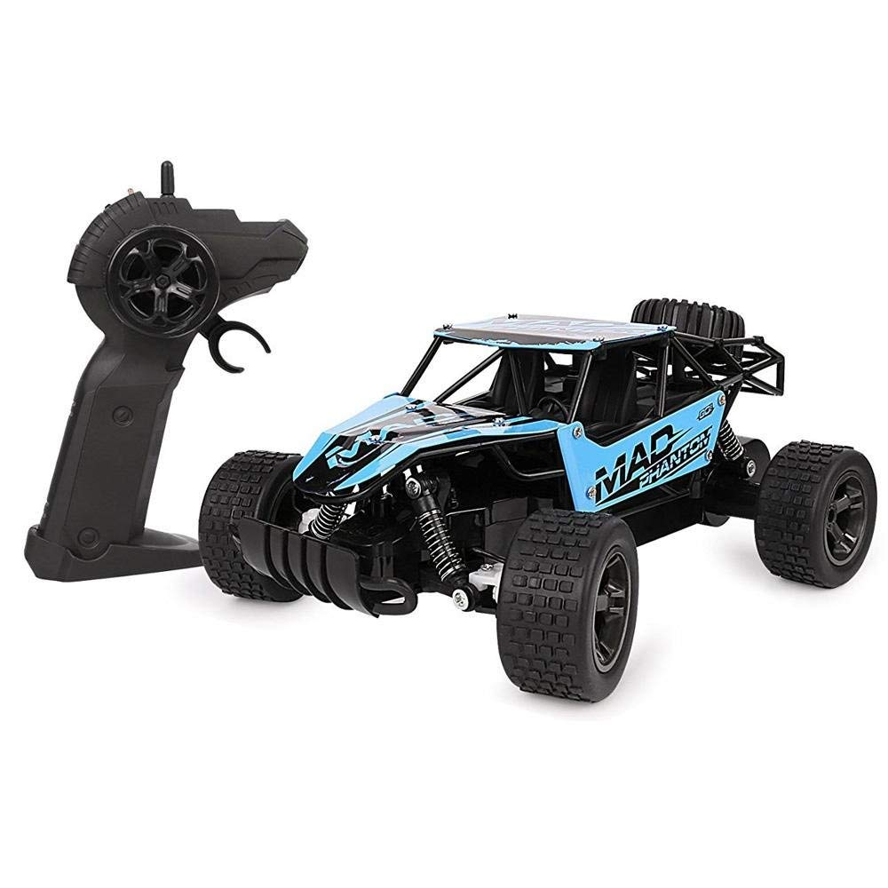 RC Cars,OXOQO 1:20 2.4Ghz High Speed Off-road Radio Remote Control Racing Car for Kids and Adults (UJ99-1815B, Blue)