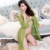 HSZ 838 High quality large size lace underwear three-piece women's sexy pajamas robe