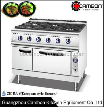 Cucina Professionale Professionale 6 I Prezzi Industriale Stufa A ...