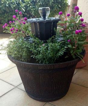 Mini Water Decorative Indoor Waterfall Fountains For Garden Modern ...