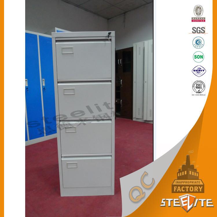 Steel Furniture Metal File Cabinet Dividers / Metal Locker Style Storage  Cabinet