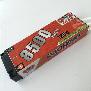 Rc Car Lipo Battery Gaoneng 5.0mm Built-in Bullet 8500mah 120c ...