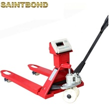 Lage profiel trolley 1ton jack <span class=keywords><strong>schaal</strong></span> alle terrein pallet truck