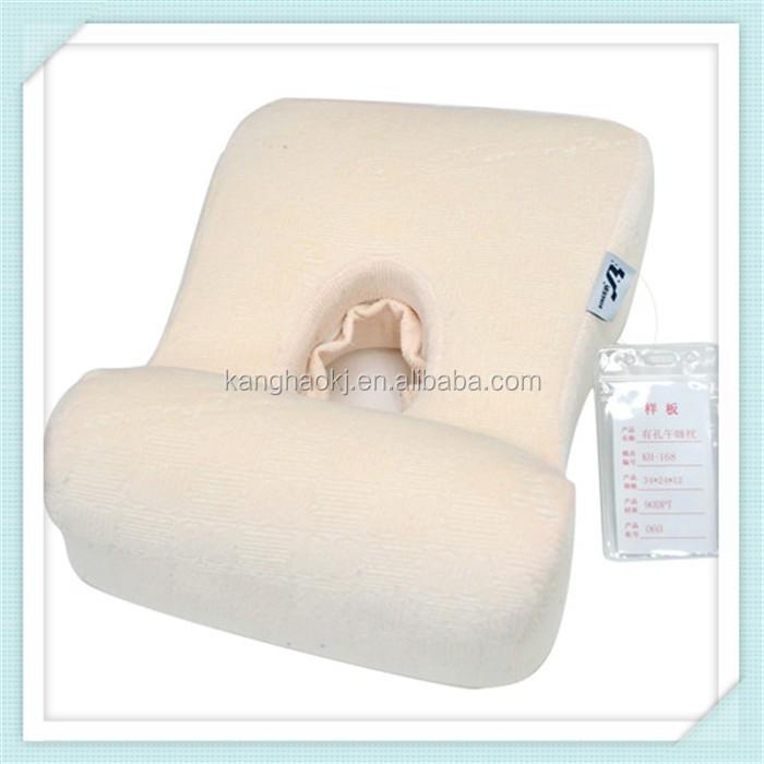 nouveau visage de bambou oreiller avec trou m moire oreiller de mousse de sieste oreiller id de. Black Bedroom Furniture Sets. Home Design Ideas