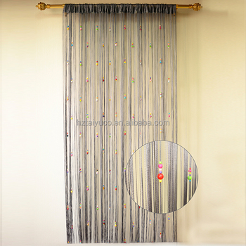 Single Color Hanging Door Beads Curtains And Drapes
