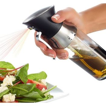LFGB Food Safe 2 in 1 Dual Olive Oil Mister Sprayer Dispenser