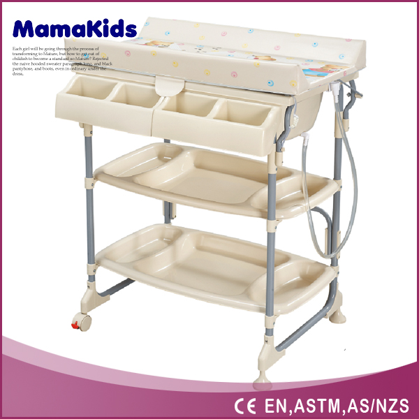 Amazing Pp Plastic Safety Plastic Baby Changing Table With Bath Tub   Buy Baby Bath  Tub,Baby Changing Table With Wheels,Baby Changing Table With Bath Tub  Product On ...