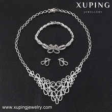 set-22 Xuping crystal moti mother daughter sparkling jewelry set,imitation jewelry italian