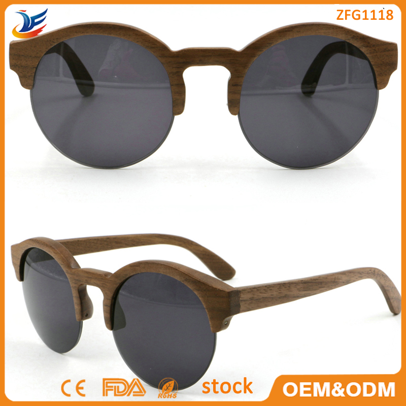 High quality machine grade womens wood sunglasses Exported to Worldwide