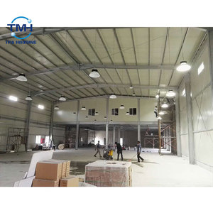 Prefabricated high rise steel building warehouse workshop steel structure building