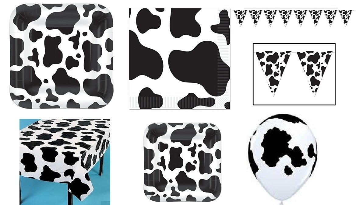 Get Quotations · Cow Print Party Set - Banner Balloons Tablecloths Dinner Plates Dessert Plates  sc 1 st  Shopping Guide - Alibaba & Cheap Cow Print Lingerie find Cow Print Lingerie deals on line at ...