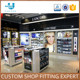 Hot Sale Commercial Merchandising Makeup Store Display Shelf for Cosmetics