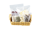 Food Packaging Pouches Self Sealing Poly Bag for Nuts Food Storage Clear Plastic Bags